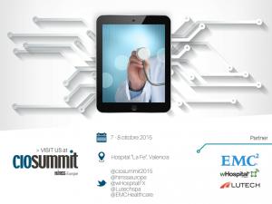 Lutech - wHospital - EMC - CIO SUMMIT 2015, 7-8 ottobre 2015, Valencia