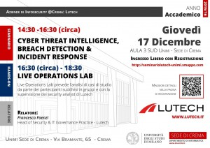 Lutech@UniCrema-Security